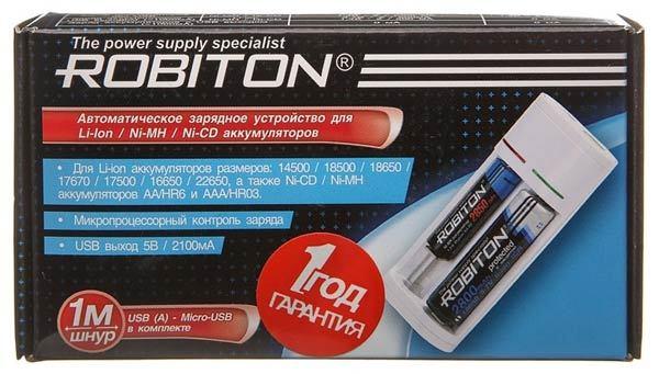 зарядное устройство Robiton Smart 2 купить