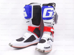 Мотоботы Gaerne SG-12 белый-синий-красный-чёрный