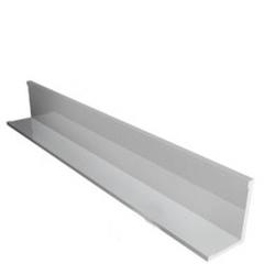 ЛЮМСВЕТ Уголок периметральный 19х19мм белый сталь (3м)