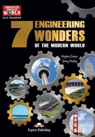 The 7 Engineering Wonders of the Modern World.  Комплект (книга + мультиром)