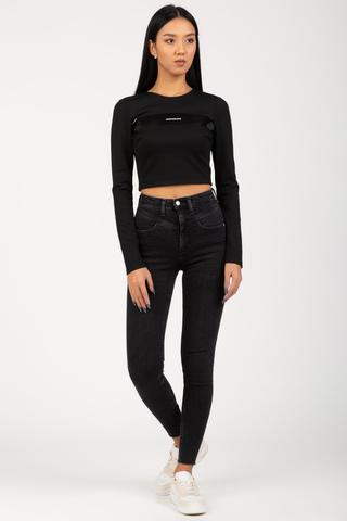 Джинсы HIGH RISE SUPER SKINNY ANKLE Calvin Klein Jeans