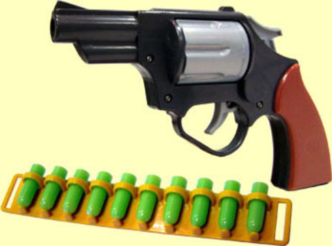 Револьвер детский С-82-Ф