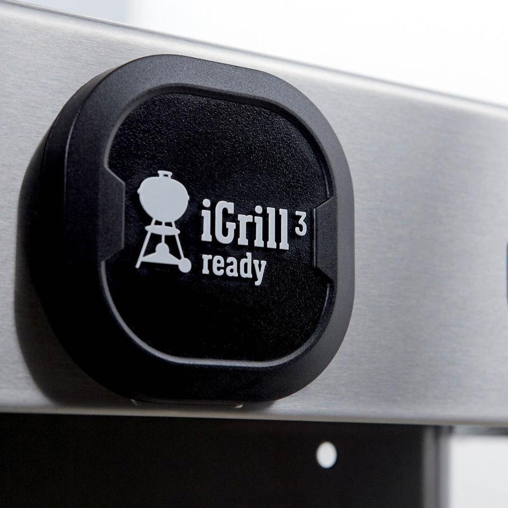 Гриль газовый GENESIS II E-315 GBS, черный
