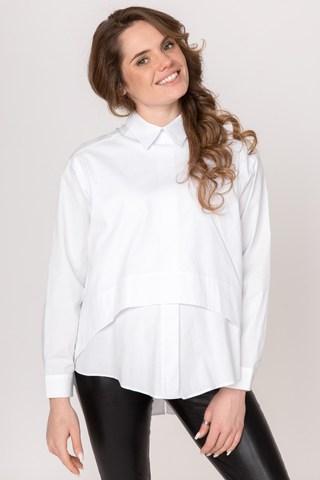 Рубашка для беременных 08922 белый