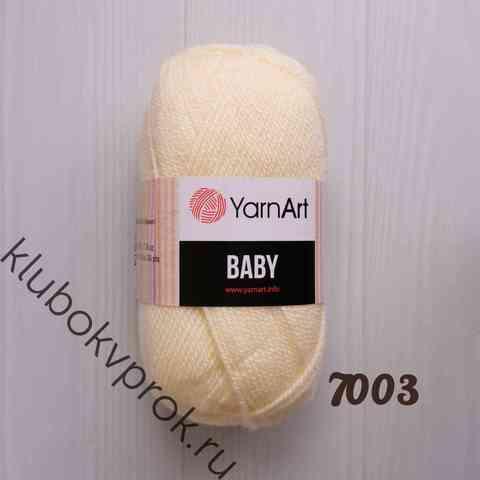 YARNART BABY 7003, Ваниль