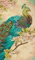DIMENSIONS Indian Peacock (Индийский павлин)
