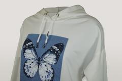 Блузка Kzara 2895 капюшон бабочка
