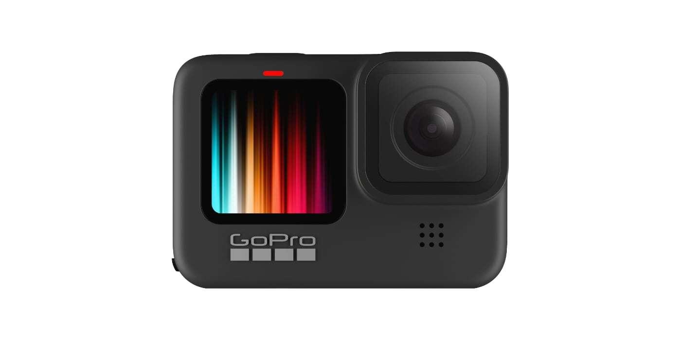 Экшн-камера GoPro HERO9 Black вид спереди