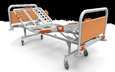 Кровать медицинская функциональная КФ-3 - фото
