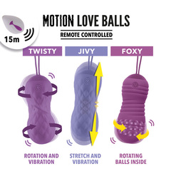 FeelzToys - Remote Controlled Motion Love Balls Foxy