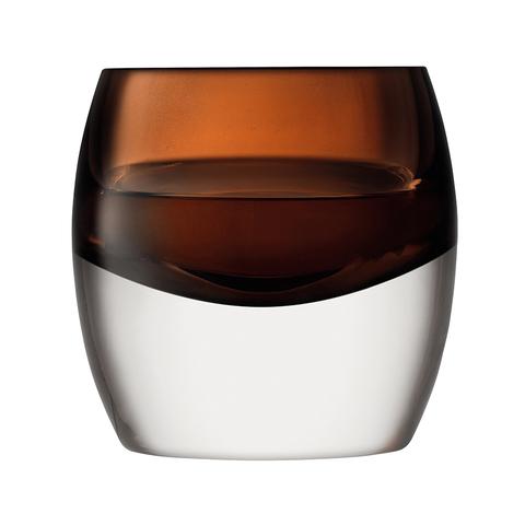 Набор из 2 тумблеров Whisky Club 230 мл коричневый