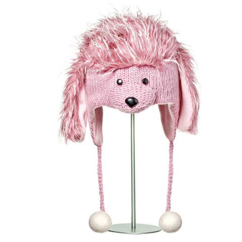 Картинка шапка с ушами Knitwits Precious the Poodle  - 1