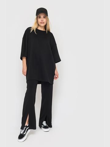 Костюм (брюки и футболка) черный YOS