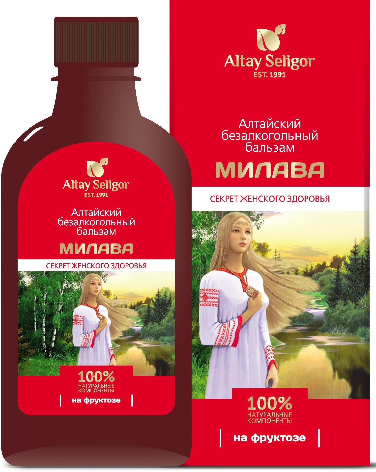 Алтайский бальзам на фруктозе Милава фото1
