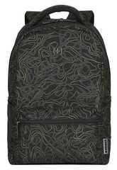 Рюкзак Wenger 606466 черный с рисунком 36x25x45 22 л.