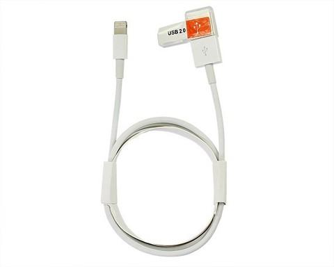 Kstati / Кабель KS-001 Lightning - USB белый | 1м