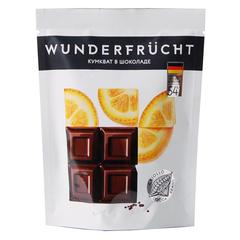 WunderFrucht Конфеты Кумкват в темном шоколаде 54%, 75 г