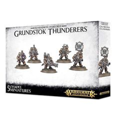 Grundstok Thunderers. Коробка