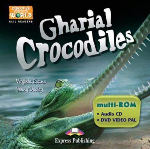 Gharial Crocodiles. Student's multi-ROM
