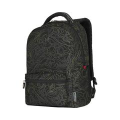Рюкзак Wenger 606466 черный с рисунком 36x25x45 22 л. - 2