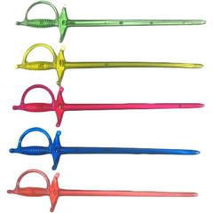 Шпажки для канапе Мистерия цветные длина 70 мм 500 штук в упаковке
