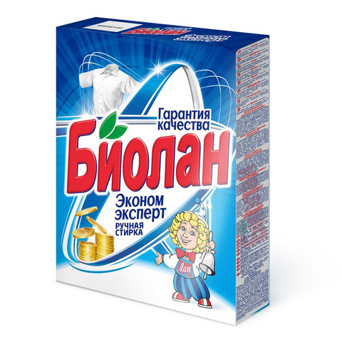 Порошок стиральный БИОЛАН Эконом Эксперт д/ручной стирки 350 гр