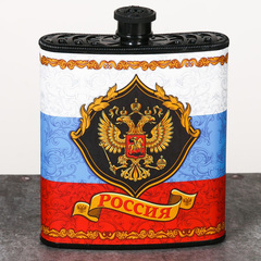 Фляжка «Россия», 210 мл, фото 5
