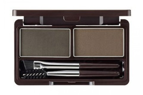 Пудра для бровей Eco Soul Eyebrow Kit 02 Gray Brown 2*2,5 гр