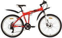 Складной велосипед FOXX Zing H2 красный