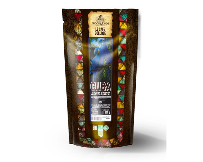 цена Кофе растворимый Broceliande Cuba, 200 г