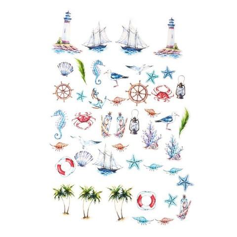 Набор высечек для скрапбукинга Райские острова