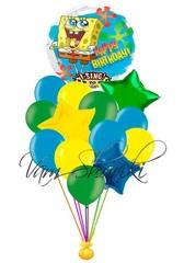 """Букет """"Спанч Боб поздравляет с днем рождения!"""""""