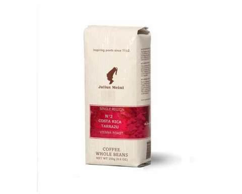 Кофе в зернах Julius Meinl Costa Rica Tarrazu №2, 250 г