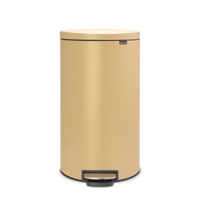 Мусорный бак FlatBack+ (30 л), Минерально-золотой, арт. 119583 - фото 1