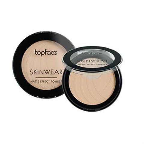 Topface Пудра матовая Skinwear Matte Effect тон 02, натуральный- РТ265 (10 г)