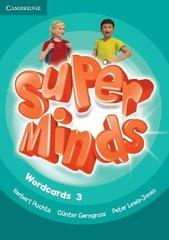 Super Minds Wordcards 3