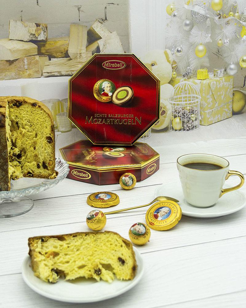 Конфеты Mirabell из Молочного Шоколада с Начинкой из Пралине и Марципана 300 гр.