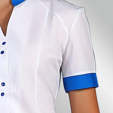 Медицинский костюм 126 синий