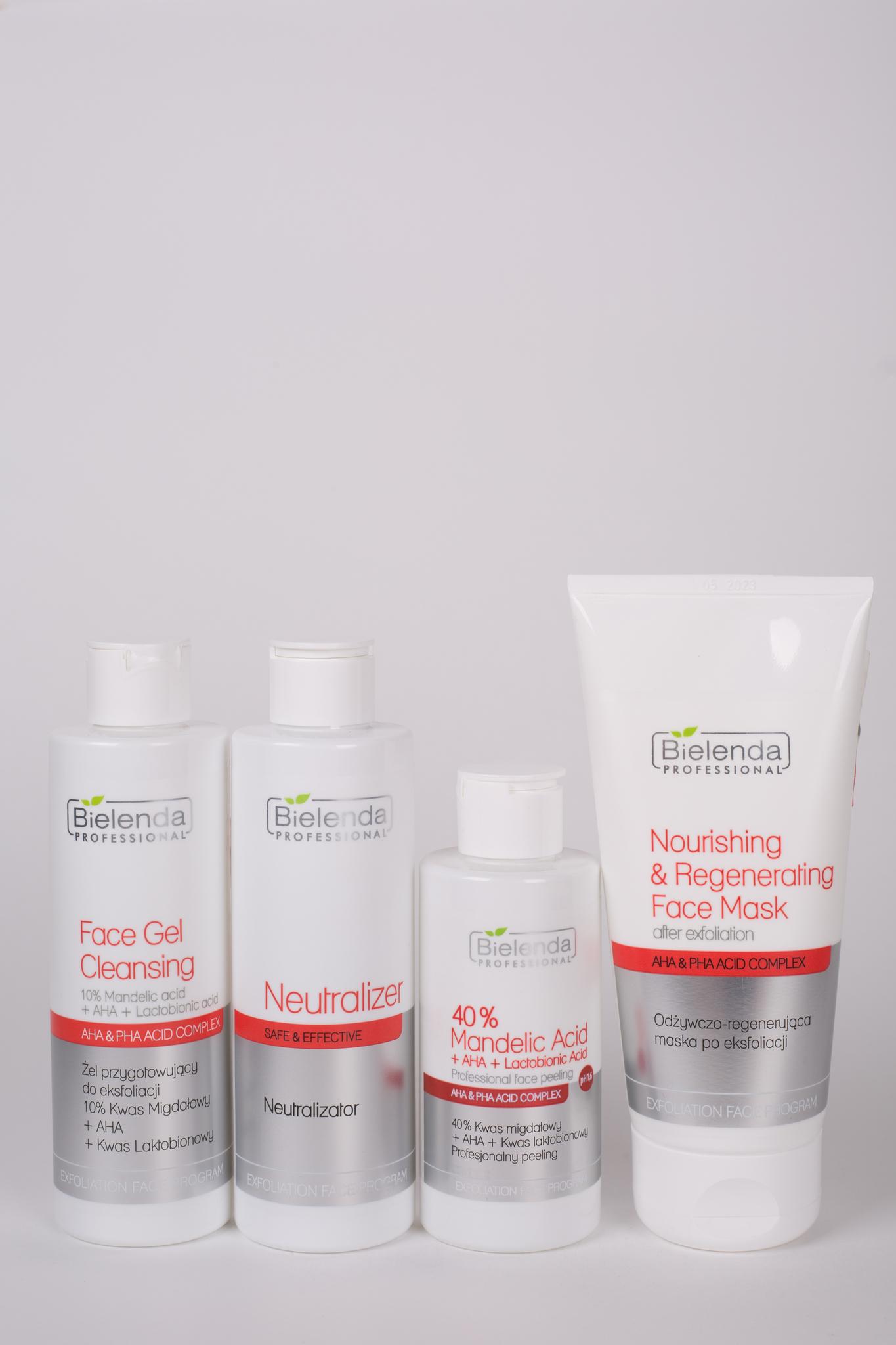 ACID, AHA, PHA Пилинг для лица для всех типов кожи  40% Миндальная кислота + PHA + AHA + Лактобионовая кислота, 150г