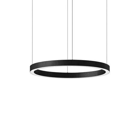 Подвесной светильник копия Light Ring by HENGE D70 (черный)