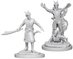 D&D Nolzur's Marvelous Miniatures: Male Tiefling Warlock