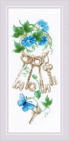 Набор для вышивания крестом «Ключи к дому» (1929)