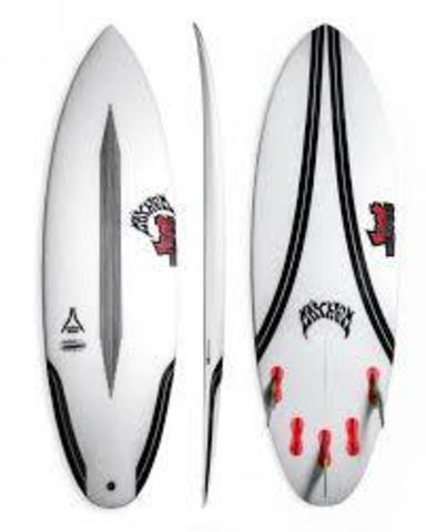 """Серфборд LOST 6'4"""" QUIVER KILLER CARBONWRAP RD FCS2 5 FIN"""