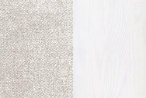 Ткань/Массив, Лофти Лён/Белая эмаль (укажите в комментарии к заказу)