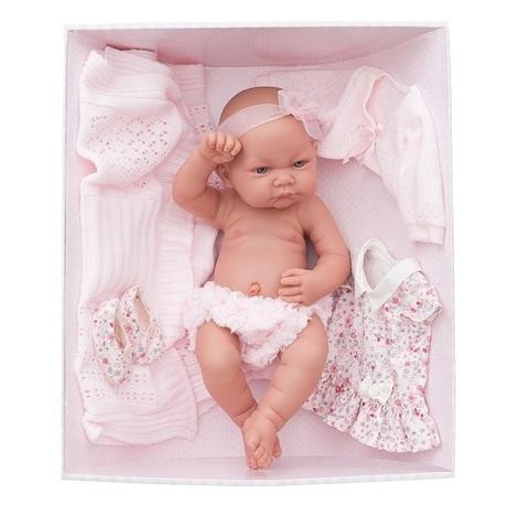 Munecas Antonio Juan Кукла-младенец Эльза, 42 см (5073P)