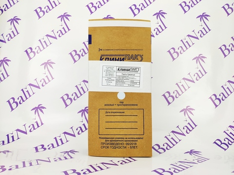 Крафт-пакеты коричневые 100х200 (1 шт)