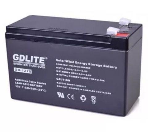 Аккумулятор GDLITE для беспереб. GD-1270 12V/7A