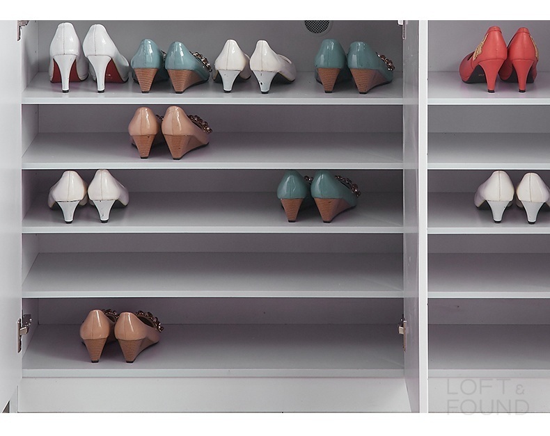 Обувной шкаф White