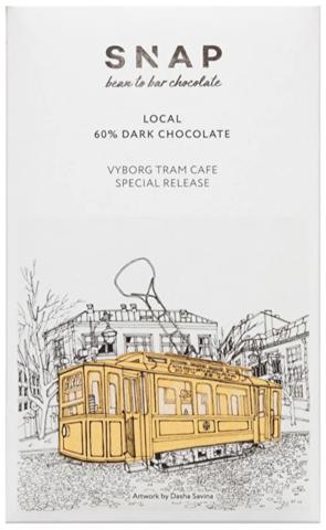 Шоколад SNAP Vyborg Tram café