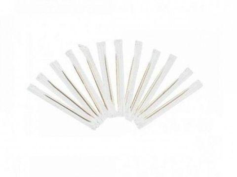 Зубочистки бамбук в инд упаковке (1000 штук)